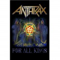 ANTHRAX - For All Kings - Textile Poster