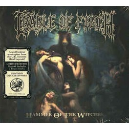 CRADLE OF FILTH - Hammer Of The Witches - CD Digi Ltd