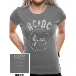 AC/DC - For Those About To Rock 1981 - TS GIRLY Gris