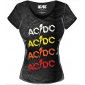 AC/DC - Logo Powerage Repeat - TS Girly