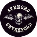 AVENGED SEVENFOLD - Death Bat - Dossard Circular