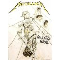 METALLICA - ...And Justice For All - Drapeau