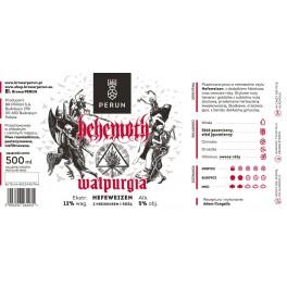BEHEMOTH - Walpurgia - Hefeweizen Beer 50cl 5° Alc