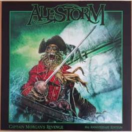 ALESTORM - Captain Morgan's Revenge - 10th Anniversary Edition - LP Gatefold Ltd