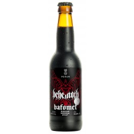 BEHEMOTH - Bafomet - Russian Imperial Stout Beer 50cl 10.6° Alc