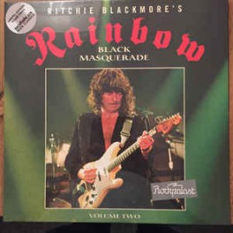 RITCHIE BLACKMORE'S RAINBOW – Black Masquerade Volume Two - LP Transparent Gatefold