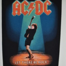 AC/DC - Let There Be Rock - Backpatch
