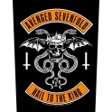 AVENGED SEVENFOLD - Biker - Backpatch