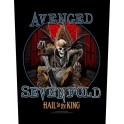 AVENGED SEVENFOLD - Hail To The King - Dossard