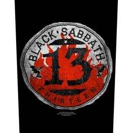 BLACK SABBATH - 13 Circular - Dossard