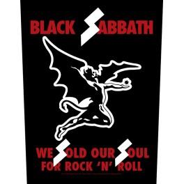 BLACK SABBATH - We Sold Our Soul - Dossard