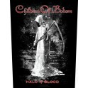 CHILDREN OF BODOM - Halo Of Blood - Backpatch