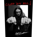 METALLICA - Cliff 'Em All ! - Backpatch