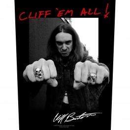 METALLICA - Cliff 'Em All ! - Dossard