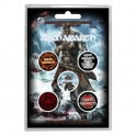 BADGES - AMON AMARTH - lot de 5