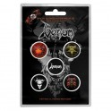 BADGES - VENOM - lot de 5