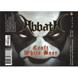 ABBATH - Craft White Beer - Beer 33cl 7° Alc
