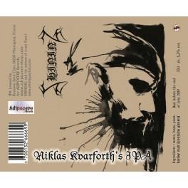 SHINING - Niklas Kvarforth's IPA - Bière 33cl 5,3° Alc