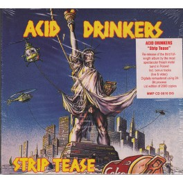 ACID DRINKERS - Strip tease - CD Digi