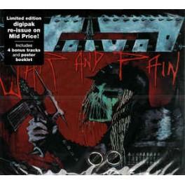 VOIVOD - War and Pain - CD Digi