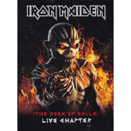 IRON MAIDEN - The Book of Souls : Live Chapter - 2-CD Digibook A5
