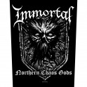 IMMORTAL - Northern Chaos Gods - Dossard