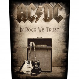 AC/DC - In Rock We Trust - Backpatch