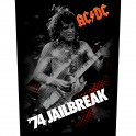 AC/DC - '74 Jailbreak - Backpatch