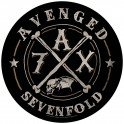 AVENGED SEVENFOLD - A7X - Backpatch