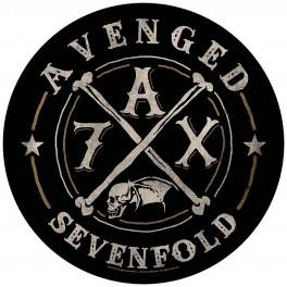 AVENGED SEVENFOLD - A7X - Dossard Circular
