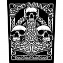 AMON AMARTH - Three Skulls - Backpatch