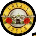 GUNS N' ROSES - Bullet Logo - Circular Backpatch