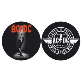 AC/DC - Let There Be Rock / Rock And Roll - Tapis de Platine