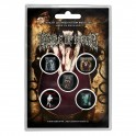 BADGES - CRADLE OF FILTH  - lot de 5