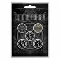 BADGES - DIMMU BORGIR - lot de 5