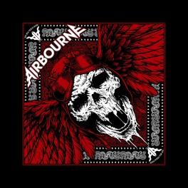 AIRBOURNE - Red Skull - Bandana