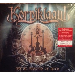 KORPIKLAANI - Live At Masters Of Rock - 2-CD+DVD Digi