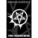 ANTHRAX - Pure Fucking Metal - Textile Poster
