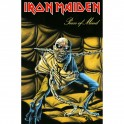 IRON MAIDEN - Piece Of Mind - Drapeau