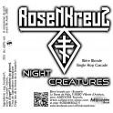 ROSENKREUZ - Night Creatures - Pale Ale Beer Single Hop 33cl 6.6% Alc