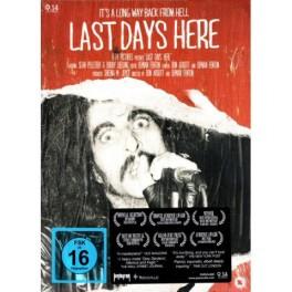 PENTAGRAM - Bobby Liebling, Pentagram – Last Days Here - DVD Digi