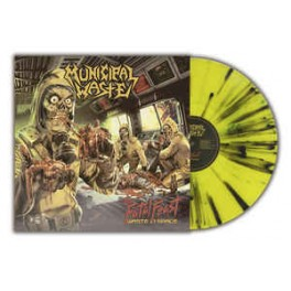 MUNICIPAL WASTE - The Fatal Feast (Waste In Space) - LP Splatter Jaune Gatefold