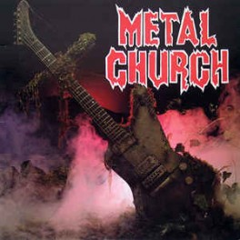 METAL CHURCH - Metal Church - LP Silver