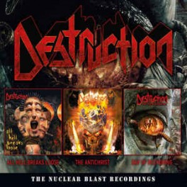 DESTRUCTION - The Nuclear Blast Recordings - BOX 3-CD