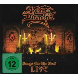 KING DIAMOND - Songs For The Dead Live - CD + 2-DVD Digi