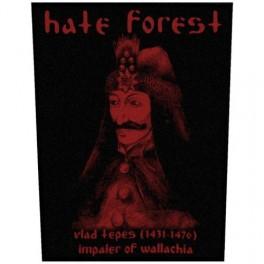 HATE FOREST - Red Vlad Tepes - Dossard