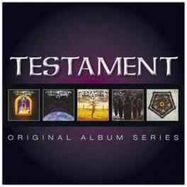 TESTAMENT - Original Album Series - 5-CD Fourreau