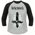 BEHEMOTH - Cross - LS Baseball Raglan