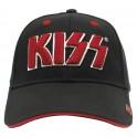 KISS - Red Logo - Casquette