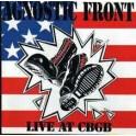 AGNOSTIC FRONT - Live At CBGB - LP Noir/Blanc